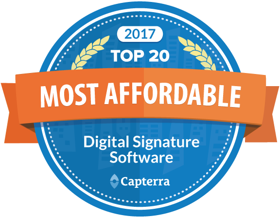 most affordable digital signature software