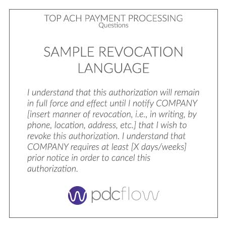 Are your Recurring ACH Payments Compliant?