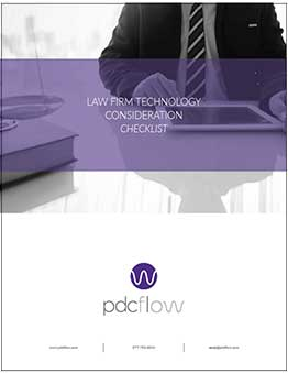 Law Firm Technology Consideration Checklist