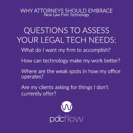 Why Attorneys Should Embrace New Law Firm Technology