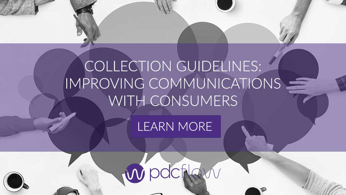 Collection Guidelines Improving Communications with Consumers