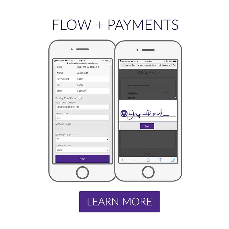 FLOW + Payments Software