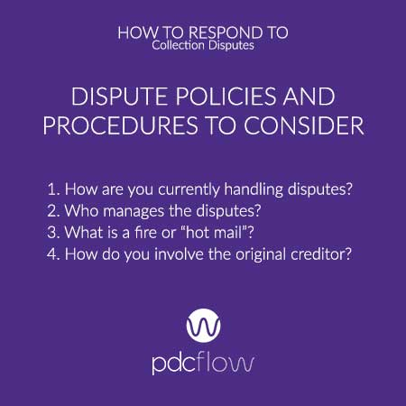 How to Respond to Collection Disputes