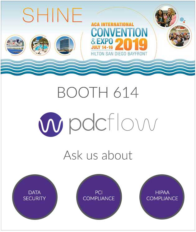 PDCflow to Showcase Recurring Payments Module in Updated User Interface at ACA Convention and Expo 2019