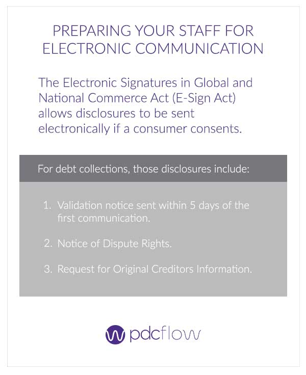 Preparing Staff for Electronic Communication Under the CFPB Proposed Rule