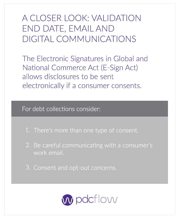 A Closer Look: Validation End Date, Email and Digital Communications