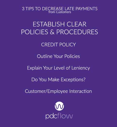 3 Tips to Decrease Late Payments from Customers