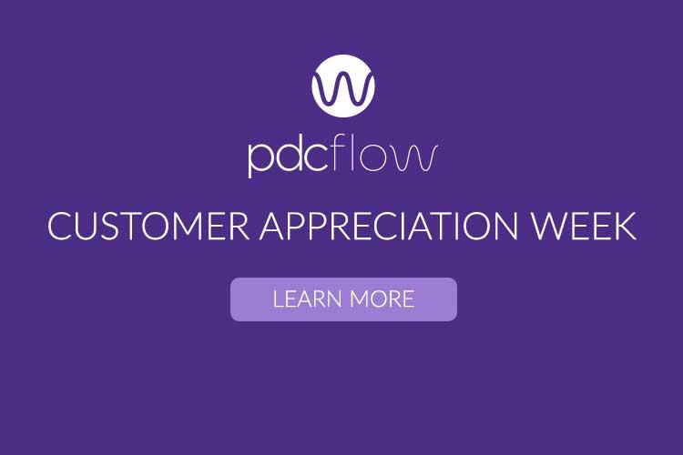 PDCflow Customer Appreciation Week