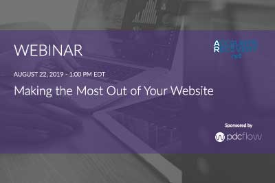 Making the Most Out of Your Website Webinar