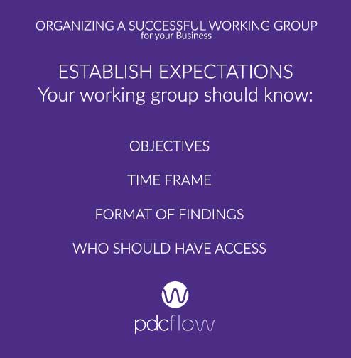 Organize a Successful Working Group for Your Business