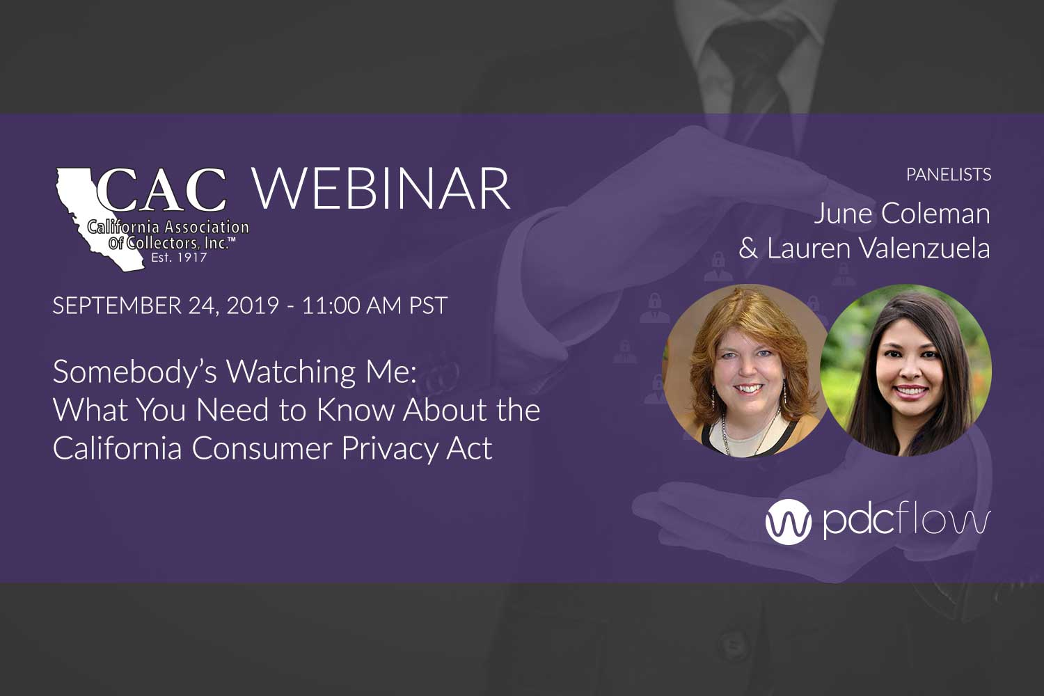 CAC Webinar: California Consumer Privacy Act