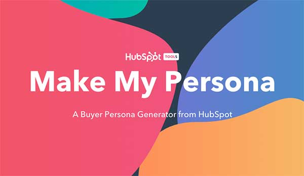 Make My Persona - Hubspot