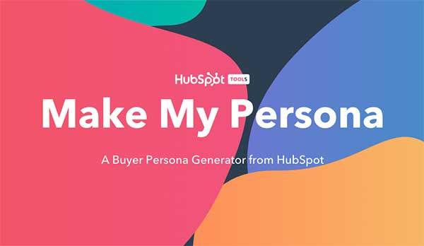 Make My Persona - Hubspot