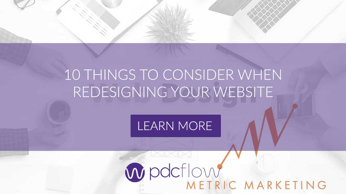 10 Things to Consider When Redesigning Your Website