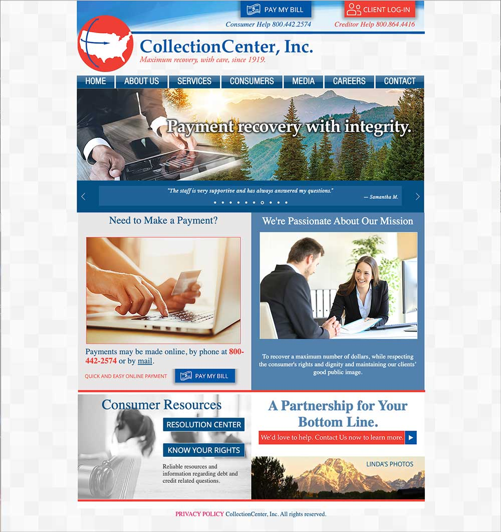 CollectionCenter Inc Website
