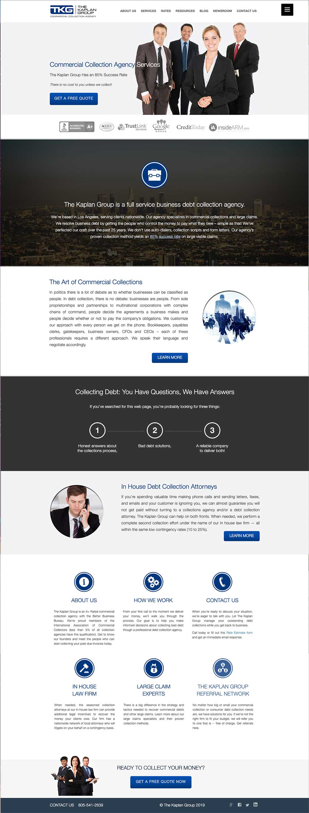 The Kaplan Group Website