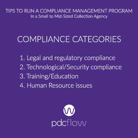 Tips to Run a Compliance Management Program In a Small to Mid-Sized Collection Agency