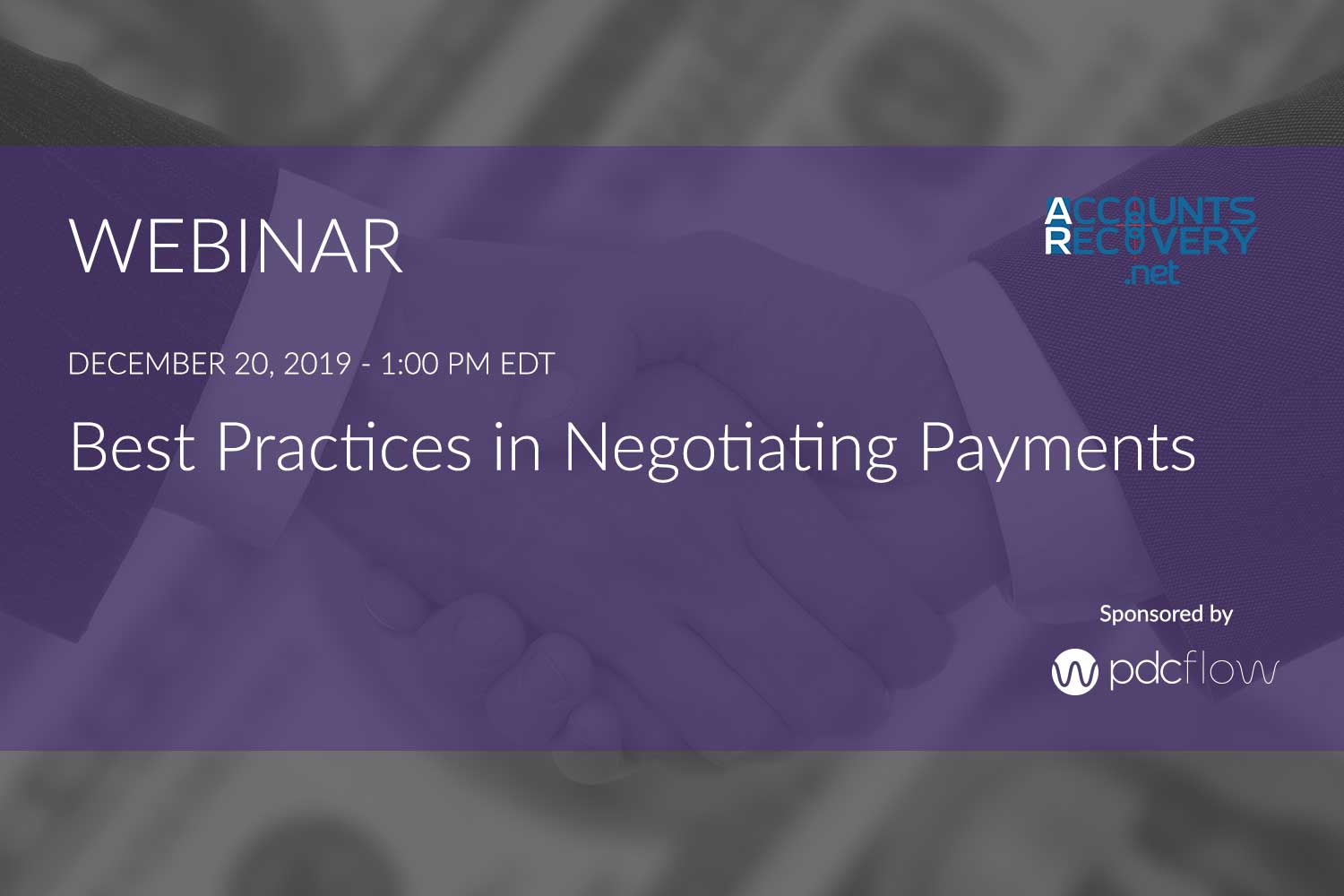Best Practices in Negotiating Payments Webinar