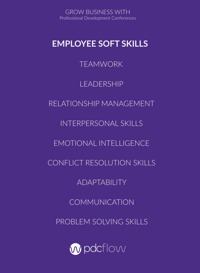 Employee Soft Skills List