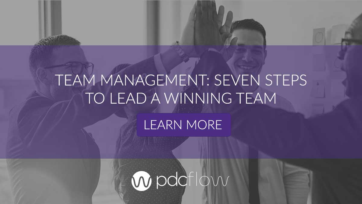 Team Management: Seven Steps to Lead a Winning Team