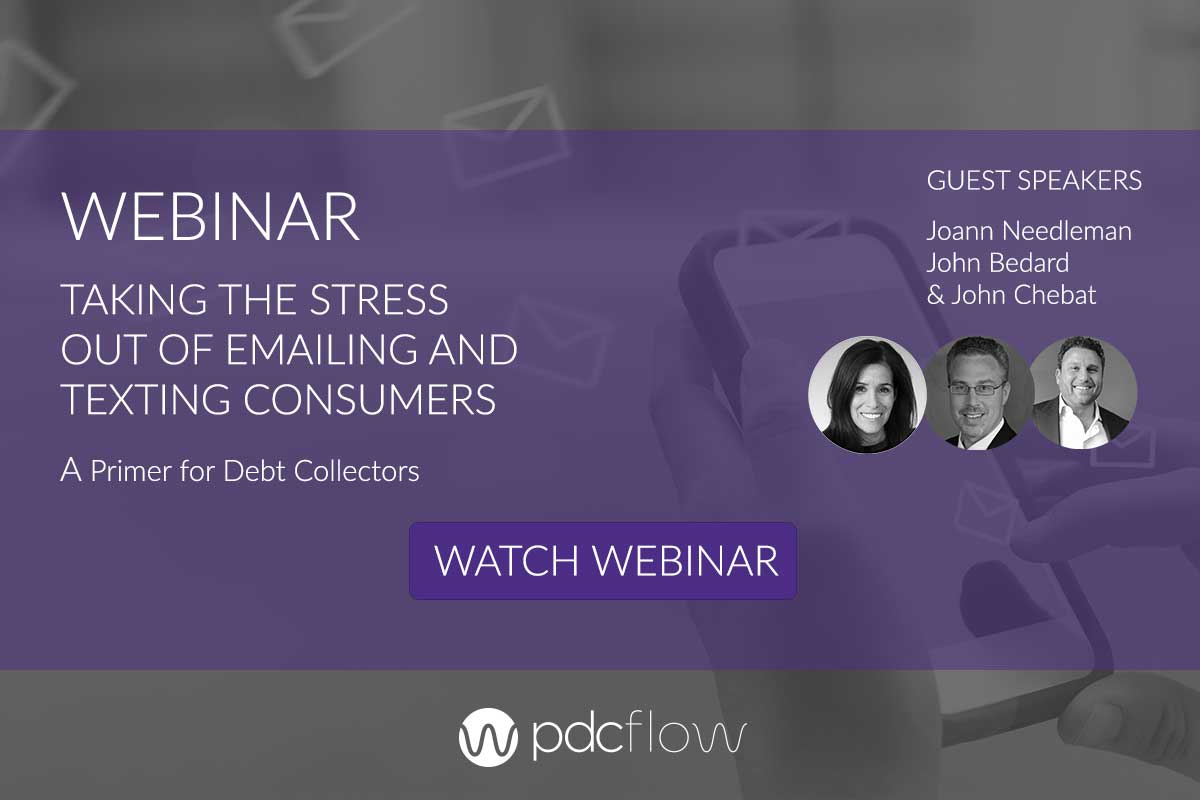 Taking the Stress Out of Emailing and Texting Consumers Webinar
