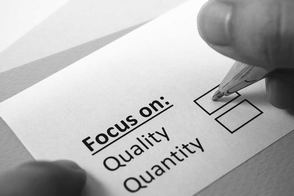 Improve Your Collection Strategy Quality Over Quantity