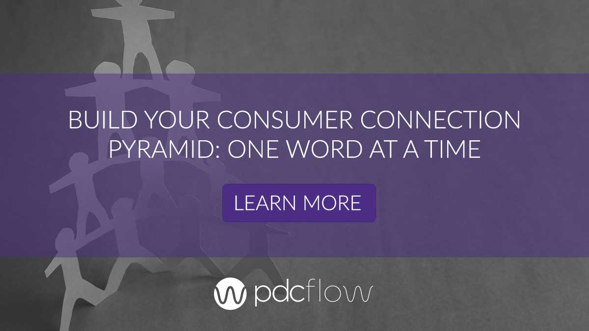 Build Your Consumer Connection Pyramid: One Word at a Time
