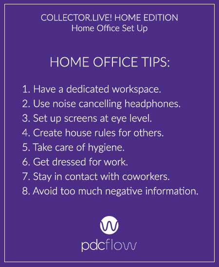 CollectorLive Home Edition: Home Office Set Up Tips