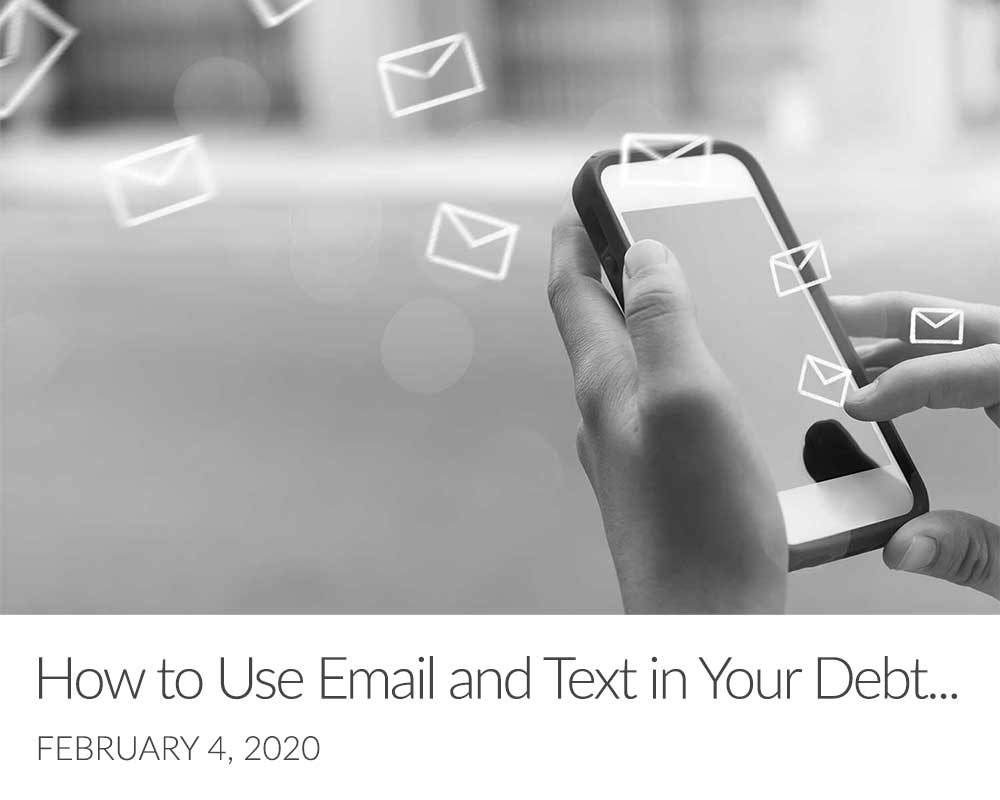 How to Use Email and Text in Your Debt Collection Strategy