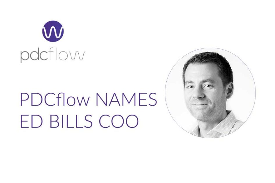 PDCflow Names Ed Bills Chief Operating Officer