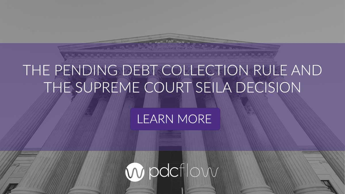 The Pending Debt Collection Rule and the Supreme Court Seila Decision