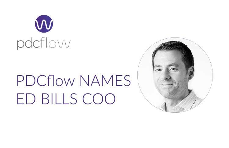 PDCflow News - PDCflow Names Ed Bills COO