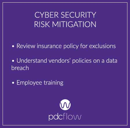 Cyber Security Risk Mitigation