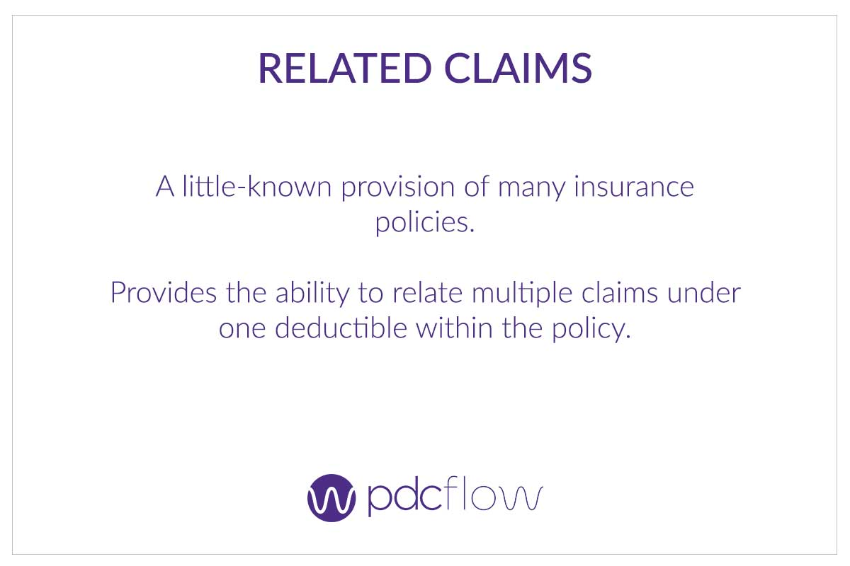 Understanding Your Business Insurance Policy - Related Claims