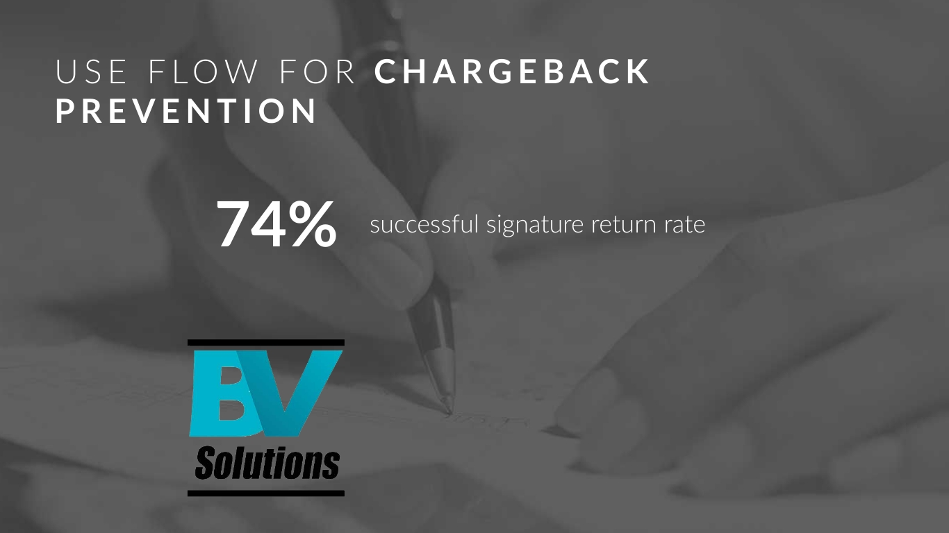 FLOW Technology for Chargeback Prevention Results