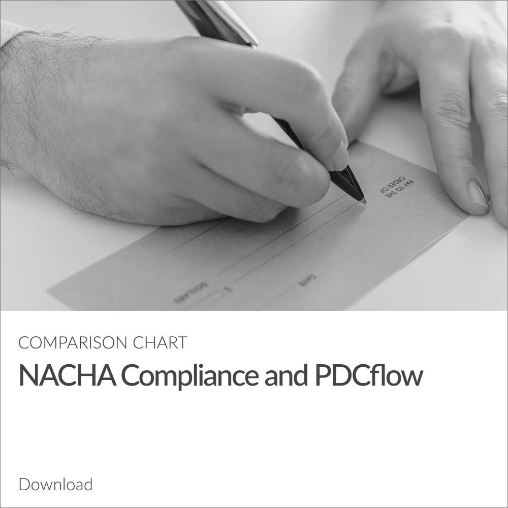 NACHA Compliance Comparison Chart