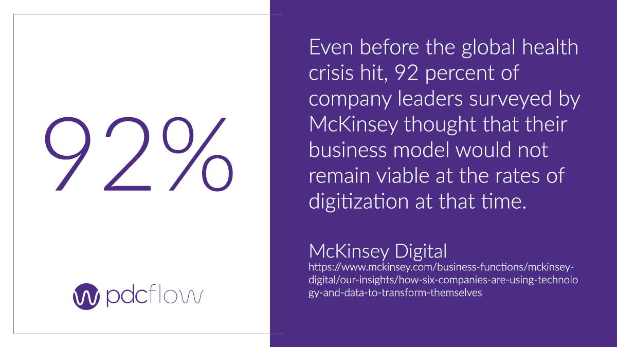 Technology Adoption McKinsey Digital Statistic