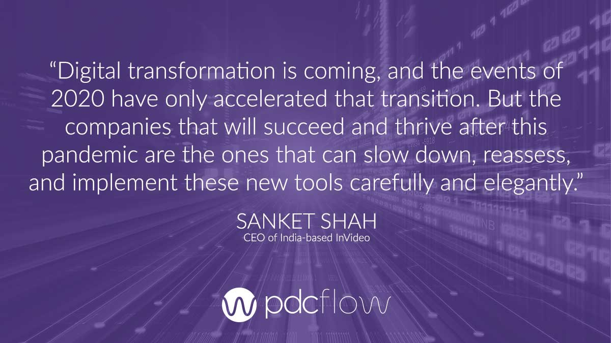 Digital Transformation Quote Sanket Shah
