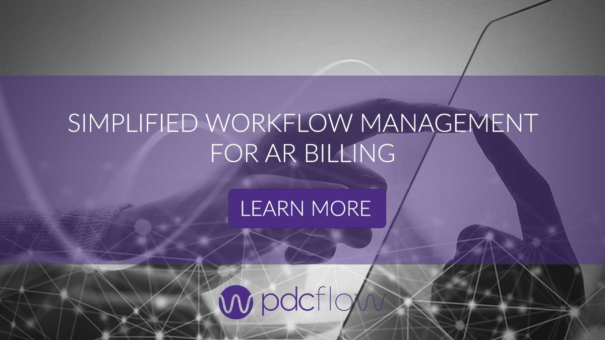 Simplified Workflow Management for AR Billing