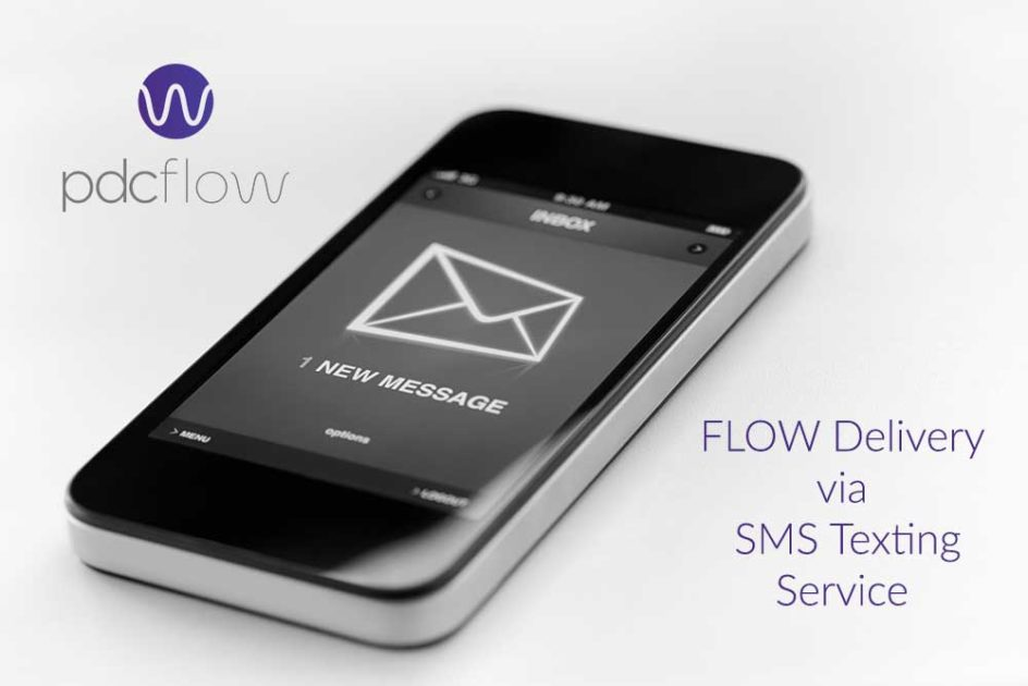 FLOW Delivery Via SMS Texting Service: Important Updates