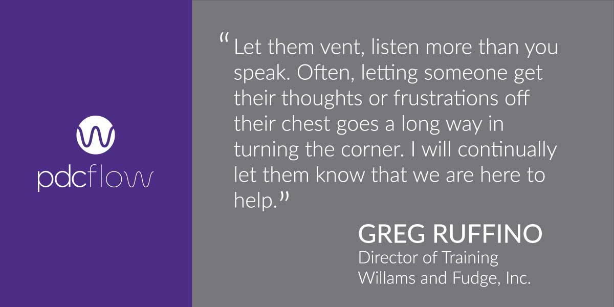 Greg Ruffino Quote about Listening to Customers