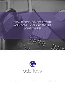 [Solution Brief] FLOW Tech for Remote Work Compliance and Security