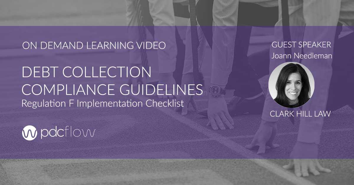 On Demand Learning Video: Regulation F Implementation Checklist