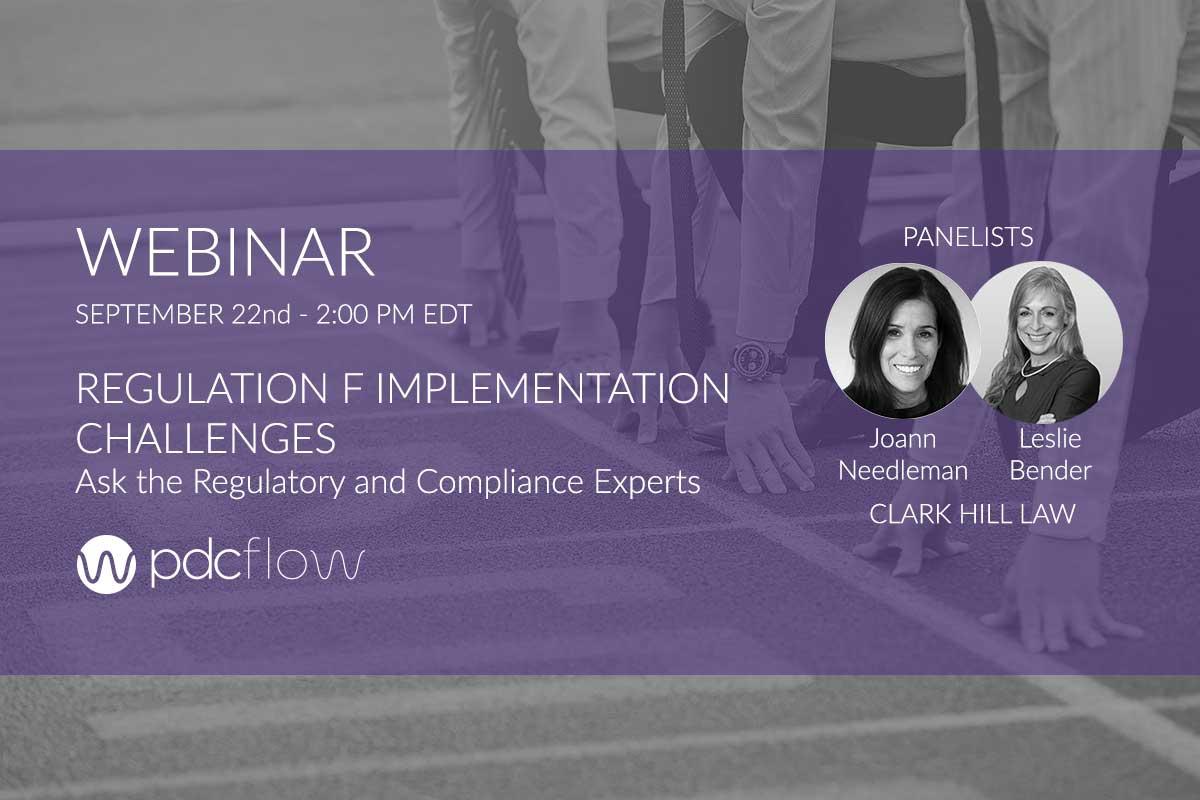 Regulation F Implementation Challenges Webinar